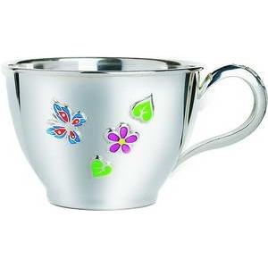 Серебряна чашка