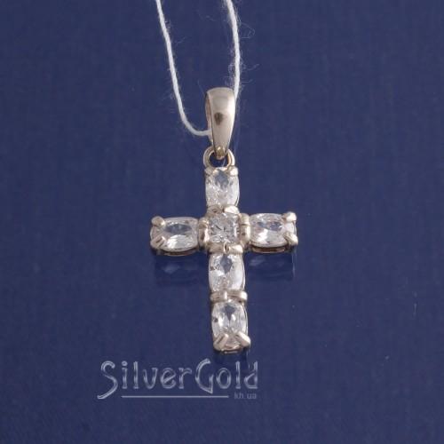 Крест Овал